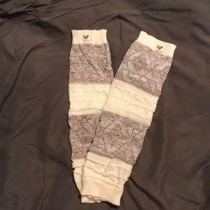 Roxy leg warmers
